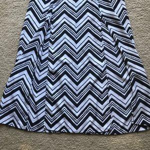 No Boundaries Dresses - No Boundaries Chevron Maxi Dress - Small (3-5)